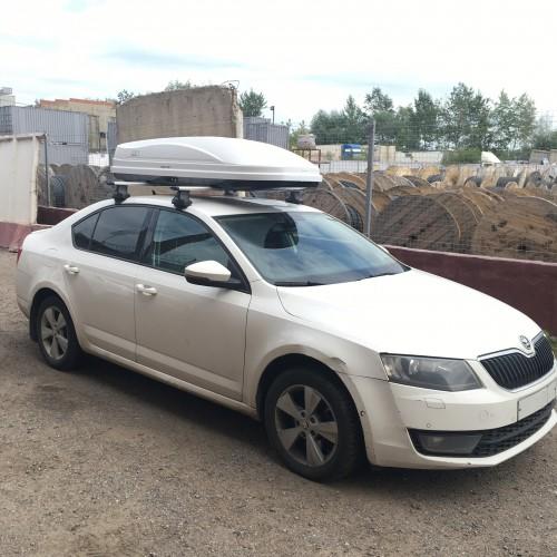 Отзыв владельца автомобиля Skoda Octavia, Андрея про магазин bagaz-auto.ru