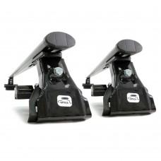 Купить Багажник на крышу автомобиля HYUNDAI Accent Sedan 4 дв. 00-02 г. Amos D-1 (Амос D-1) на гладкую крышу