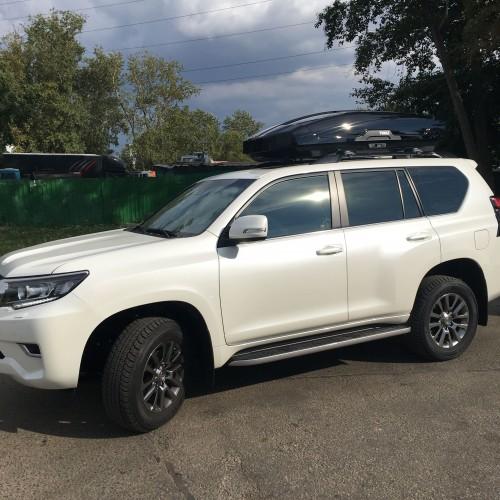 Отзыв владельца автомобиля Toyota Land Cruiser, Сергея про магазин bagaz-auto.ru
